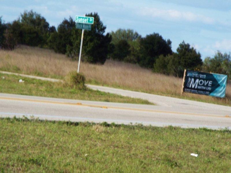 Residential Development Corner : Lake Wales : Polk County : Florida