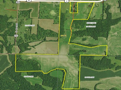 265.75 Acres : Huntsville : Randolph County : Missouri