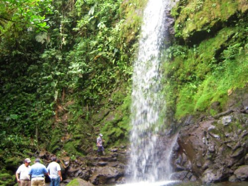 Waterfalls, 207 Ac. Mt. Farm- Cabin : La Suiza De Turrialba : Costa Rica