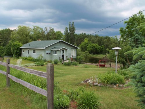 10 Acre Hobby Farm With House : Atlanta : Montmorency County : Michigan