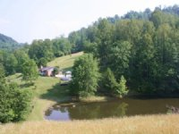 Private 85 Acre Farm And House
