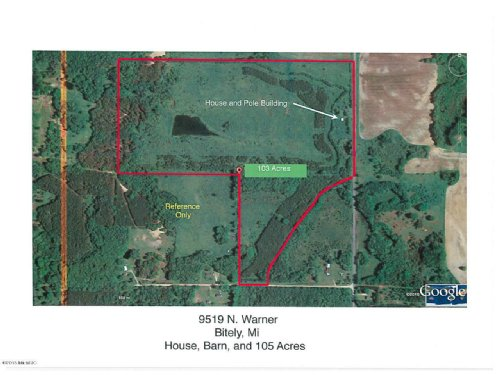 Fantastic Hunting Opportunity : Bitely : Newaygo County : Michigan