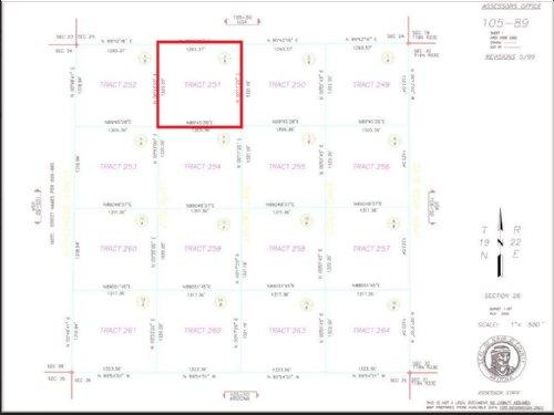 40 Acres Of Land For Sale : Adamana : Navajo County : Arizona