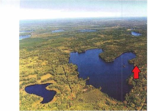 5.06 Acres Mitten Lake : Lac Du Flambeau : Vilas County : Wisconsin