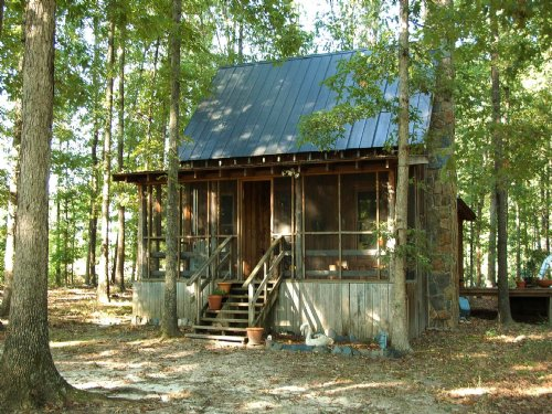 Private Country Cabin On 24 Acres : Cartersville : Cumberland County : Virginia