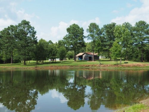 Ms Hunting Land Pond House Barn, Wa : Jayess : Walthall County : Mississippi