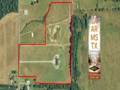 20 Ac - Large Custom Home With Acre : Mangham : Richland Parish : Louisiana