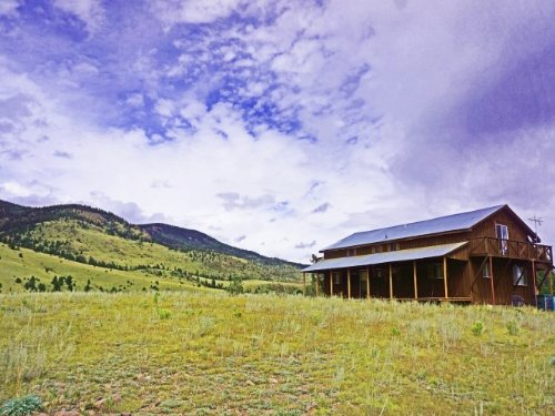 233804 Currently A Hunting Lodge : Saguache County : Colorado