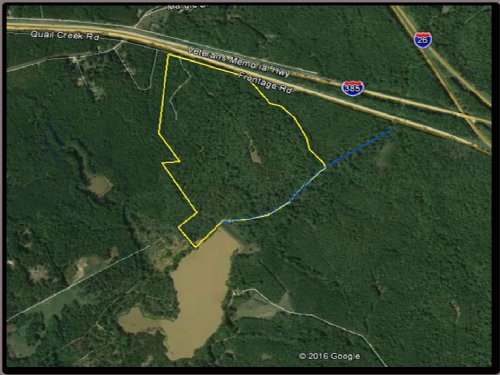 I-385 Recreational Tract : Clinton : Laurens County : South Carolina