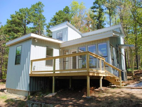 Cabin, Creek, Views, Acreage : Mountain View : Stone County : Arkansas