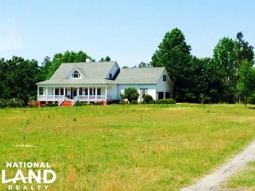 Sylvania Rural Country Home : Sylvania : Screven County : Georgia