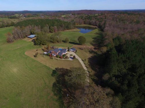 Farm For Sale - 92+/- Acres W/lake : Lineville : Clay County : Alabama